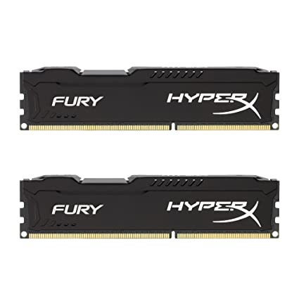 HyperX Fury - Memoria RAM de 16 GB (1866 MHz DDR3 Non-ECC CL10 ...