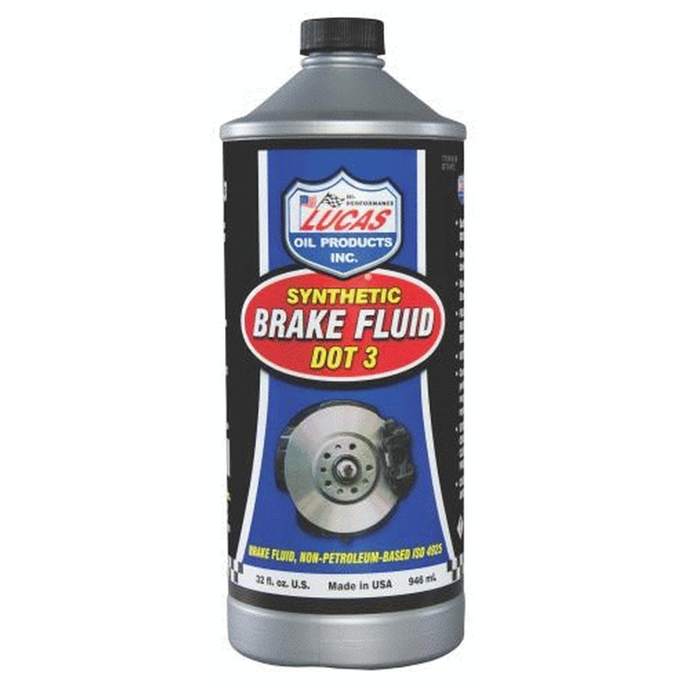 Lucas Oil 10826 Brake Fluid - 1 Quart (Quantity 4) by Lucas Oil