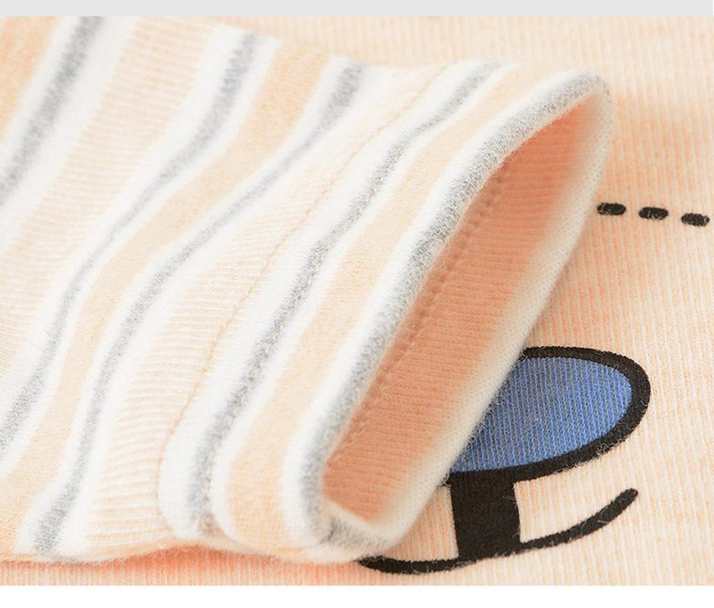 HJXJXJX Recién Nacido de Ropa para el hogar de otoño e Invierno párrafo niños Engrosamiento de algodón Hebilla sin Hueso Suave Sujetador Ropa Interior, ...