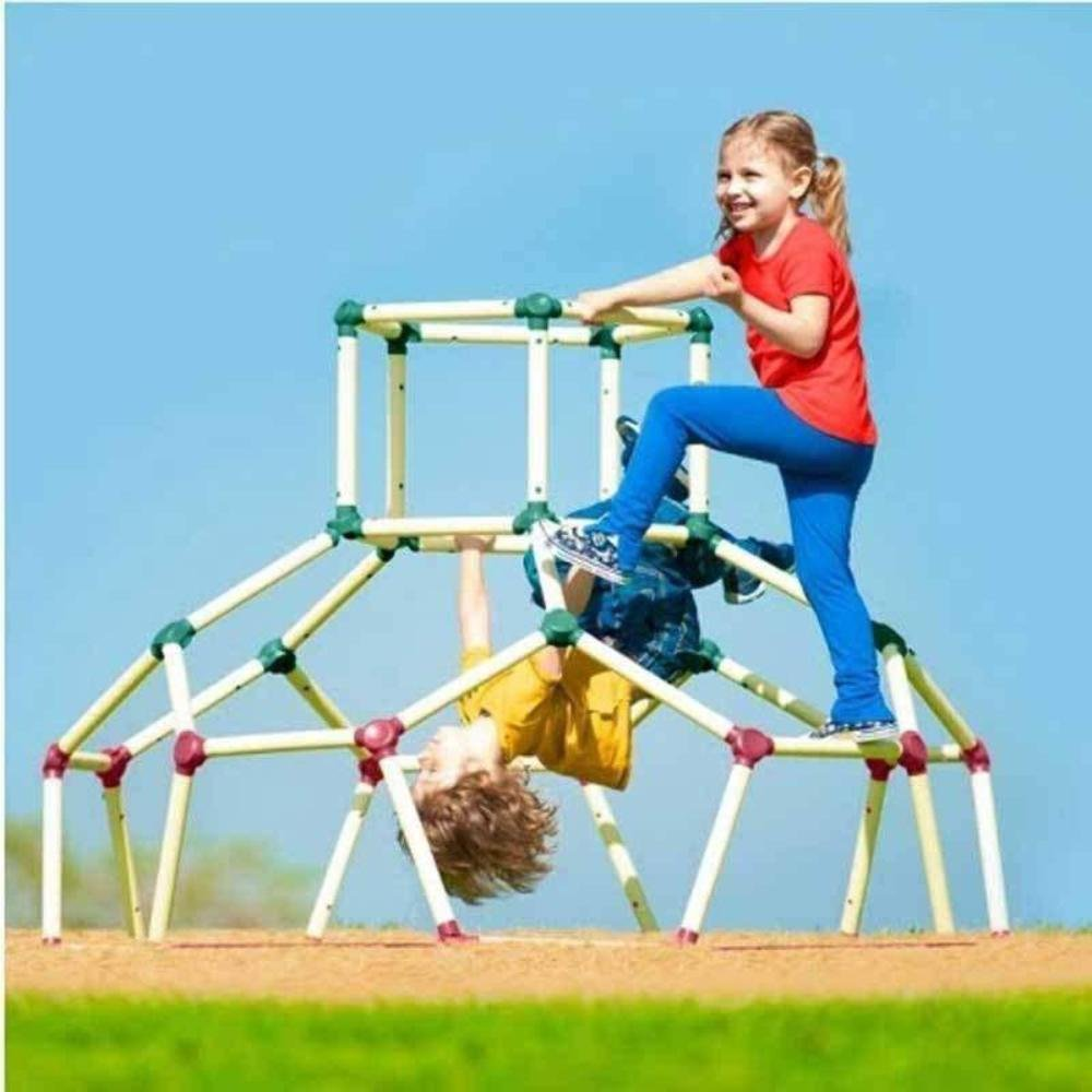 Lil' Monkey Dome Climber - Jungle Gym Playground Equipment, Outdoor Climbing Structures for Kids and Toddlers Pavlov'z Toyz Inc LMCFDCUS01