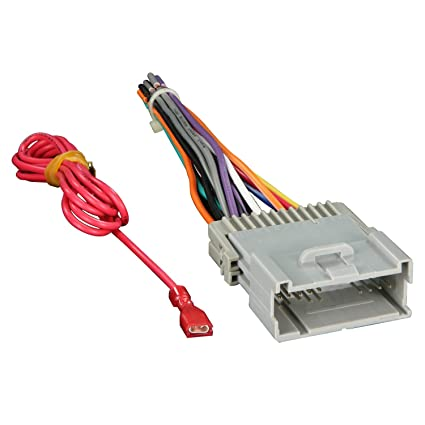 amazon com metra 70 2003 radio wiring harness for gm 98 08 harness rh amazon com 2004 chevy silverado radio harness 2004 silverado stereo harness