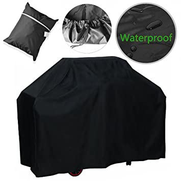Parrilla de barbacoa cubierta, funda, resistente al agua de gas barbacoa parrilla cubierta para