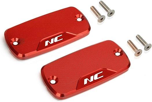 Motorrad Vorne Bremsflüssigkeitsbehälter Deckel Für Honda Nc700 S X Nc750 S X Alle Jahre Rot Auto