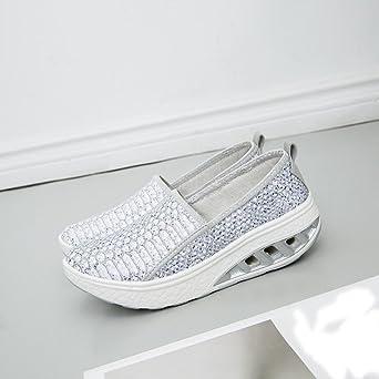 Covermason Zapatos Zapatos de mujer verano, plataforma de ...