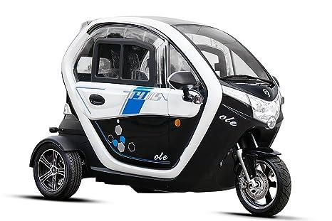 Coche eléctrico Geco Ole 2000 con permiso de circulación, coche eléctrico, vehículo eléctrico