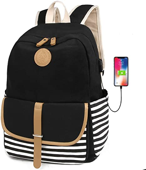 Teen School Bag Bookbag Laptop Backpack Lightweight Travel Casual Daypack Hiking Packback