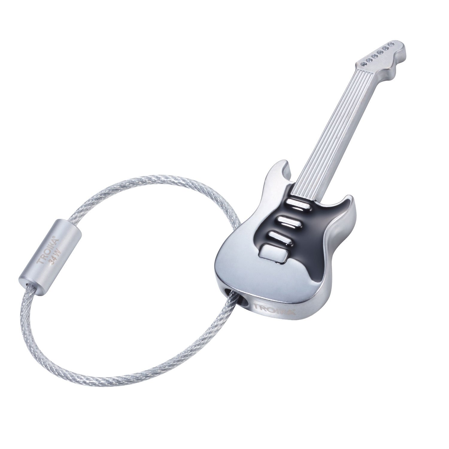 Amazon.com: TROIKA STRAT AM RING – KR17-38/MA – Keyring ...