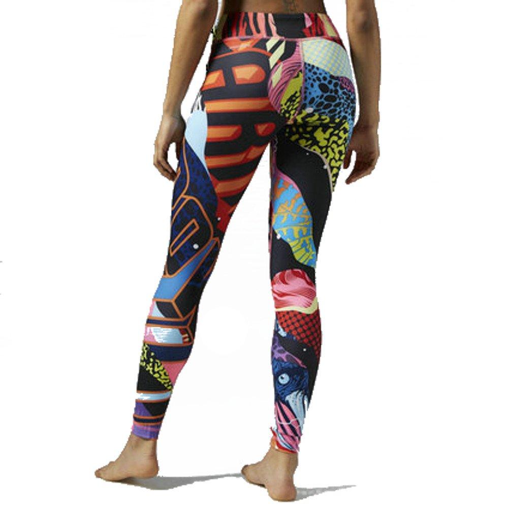Reebok para mujer Yoga Graffiti colabo Tight - S93806 ...