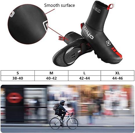 Auplew /Überschuhe Wiederverwendbare Fahrradschuhe Decken Winter Winddicht Wasserdicht Warm Radfahren Regen Stiefel