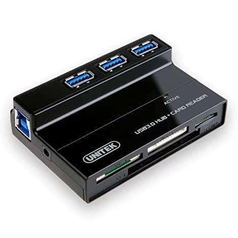 Amazon.com: Unitek – aluminio USB 3.0 SuperSpeed Multi-in-1 ...
