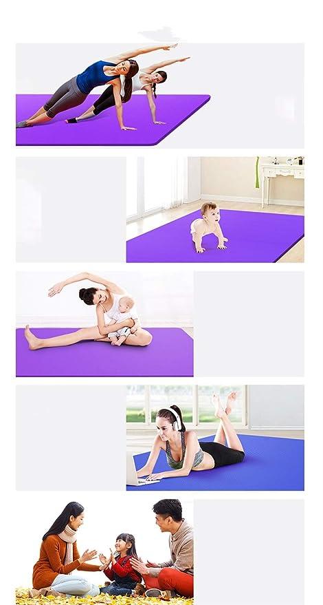 Amazon.com : YXGYJD Yoga Mat Fitness Mat Exercise Mat ...