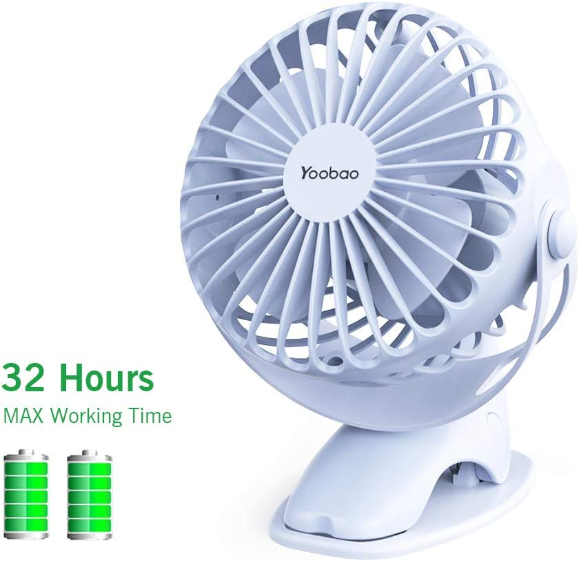 6 inch Portable with Clip USB Desktop Fan for Home Office Baby Stroller MS
