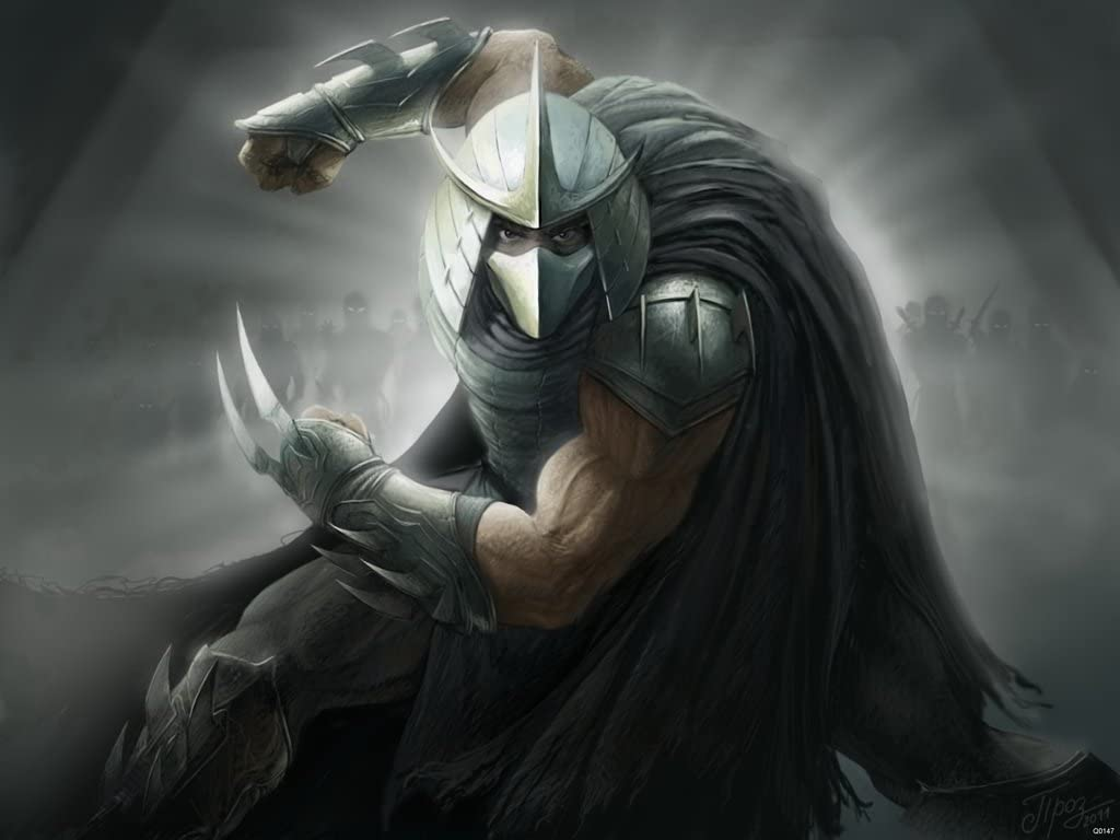 Amazon Com Tmnt Character The Shredder Fan Art 32x24 Poster Print