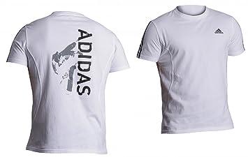 Adidas Impression Judo - Camiseta de manga corta (talla S), color blanco: Amazon.es: Deportes y aire libre