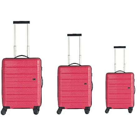 Jaguar Luggage Set Red Coral  Amazon.co.uk  Luggage 3e91008c7