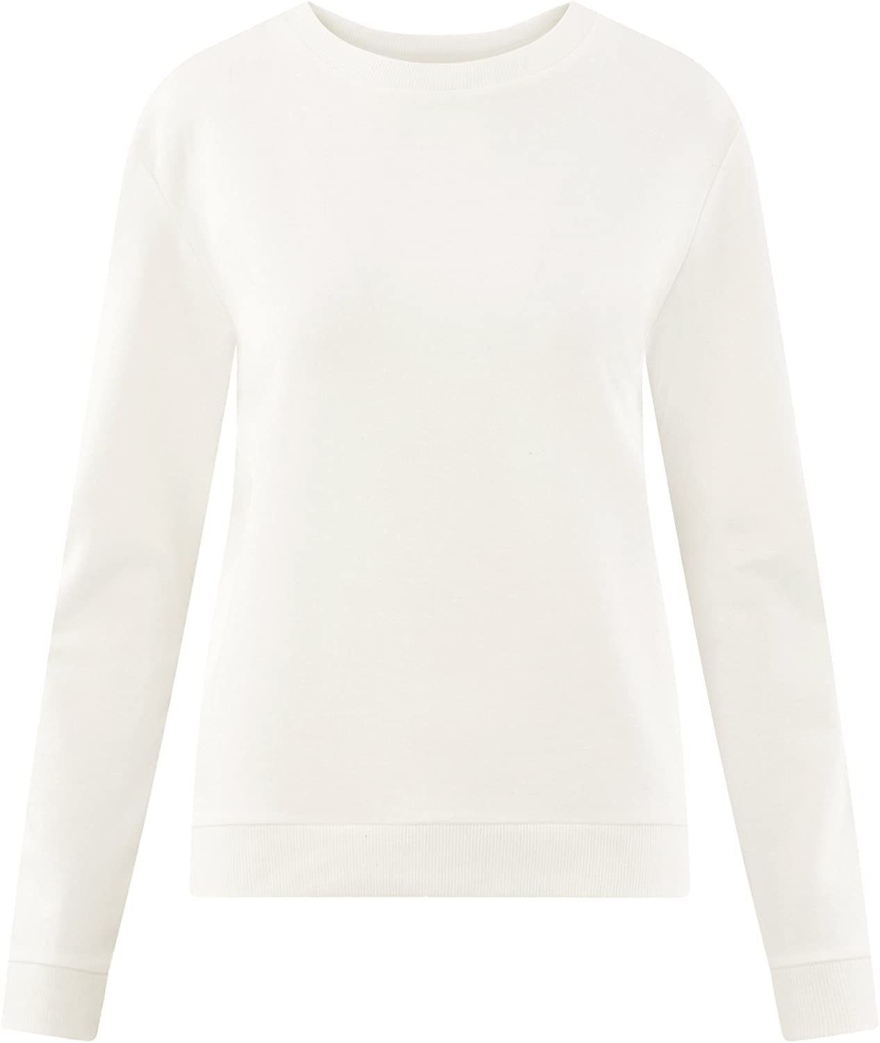 oodji Ultra Donna Felpa Basic in Cotone
