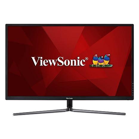 ViewSonic VX3211-2K-MHD 32 Inch IPS WQHD 1440p Monitor with 99% sRGB Color  Coverage HDMI VGA and DisplayPort