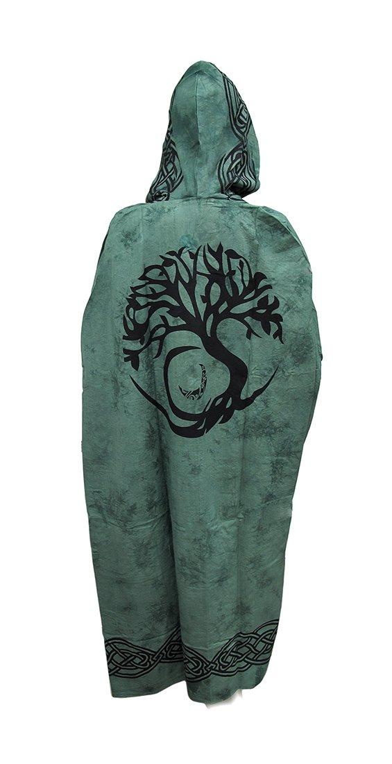 Zeckos Lightweight Cotton Hooded Ritual Cloak
