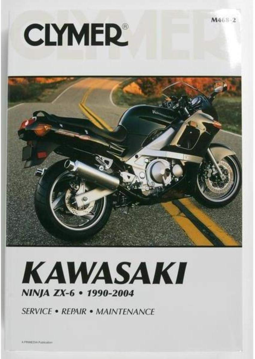 Amazon.com: Clymer M4682 1990-2004 Kawasaki Ninja ZX-6 ...