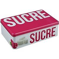 B&W Boîte à Sucre en Morceaux Relief - Métal
