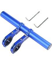 Bike Handlebar Extender Flashlight Bracket Lamp Bar Mount GPS Holder