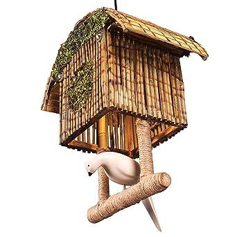 Jaula de Pájaros Retro Lámpara Colgante, Jaula de Pájaros De ...