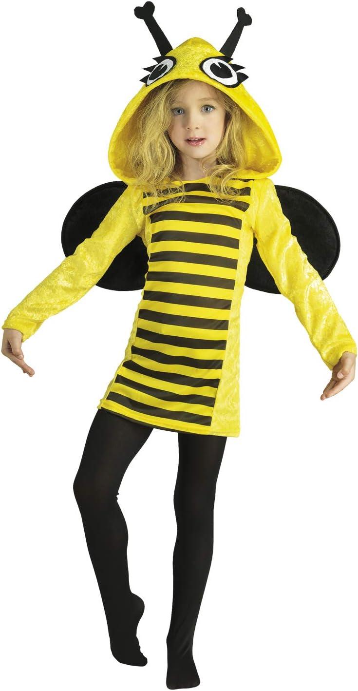 Clown Republic - Disfraz de abeja para niña, 02512/12, color ...