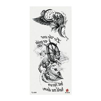 3pcs-nuevo 3d flor tatuaje apliques brazo dama pecho vientre ...