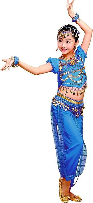 Grouptap Bollywood Indio niños niñas bharatanatyam Estilo Danza ...