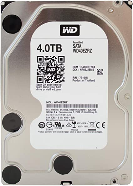 Wd Blue Wd40ezrz Interne Festplatte Desktop 4tb 3 5 Computer Zubehör