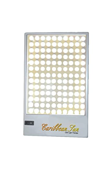 10,000 LUX Sunlight Therapy - LED Light Therapy Desk Lamp with 108 LED Lamps  - UV