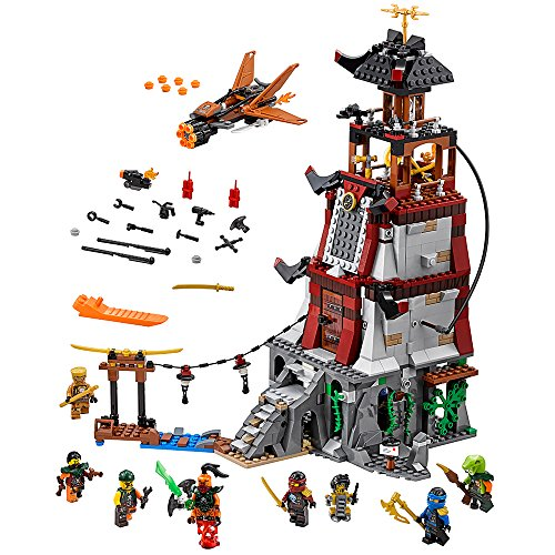 LEGO NINJAGO The Lighthouse Siege 70594 Kids Toy (Lego Ninjago Samurai X Cave Chaos Set)