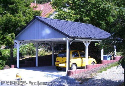 PRIKKER-Carport - Porche de madera para proteger vehículos de la ...