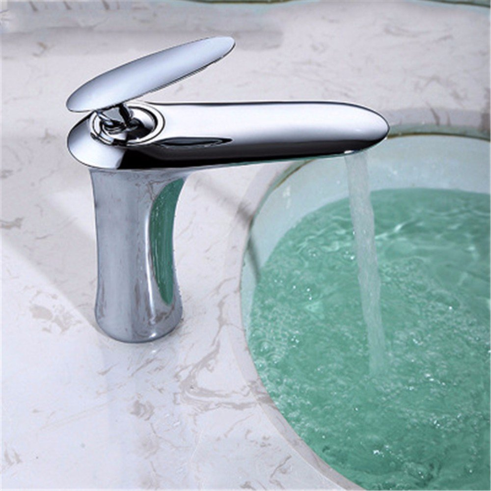A Basin Faucet All Bronze Hot and Cold High Section golden White Black Paint Bathroom Faucet,M