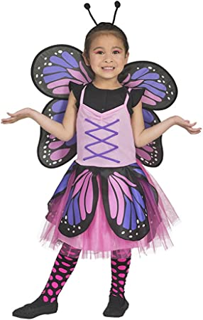 Disfraz de Belle de Mariposa para niña - Rosa - Disfraz de ...