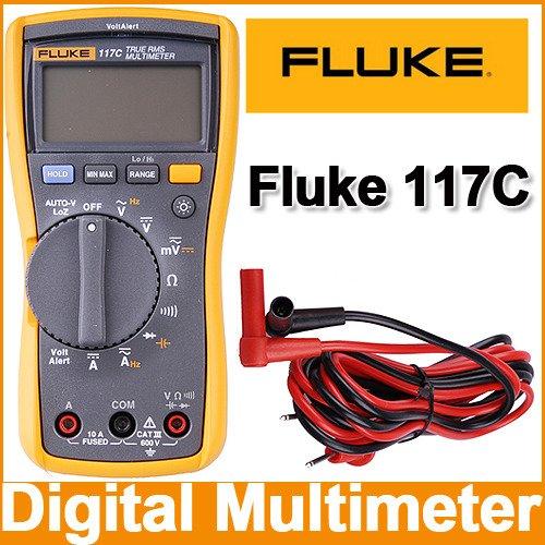 FLUKE 117C HAVC VoltAlert Backlight Multimeter