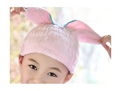 gootu ouou novedad Orejas de conejo nasses pelo secado tapa Spa baño ducha sombrero pelo Secar