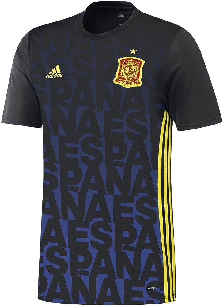 adidas - Camiseta de la UEFA Euro 2016 de España Pre-Match ...