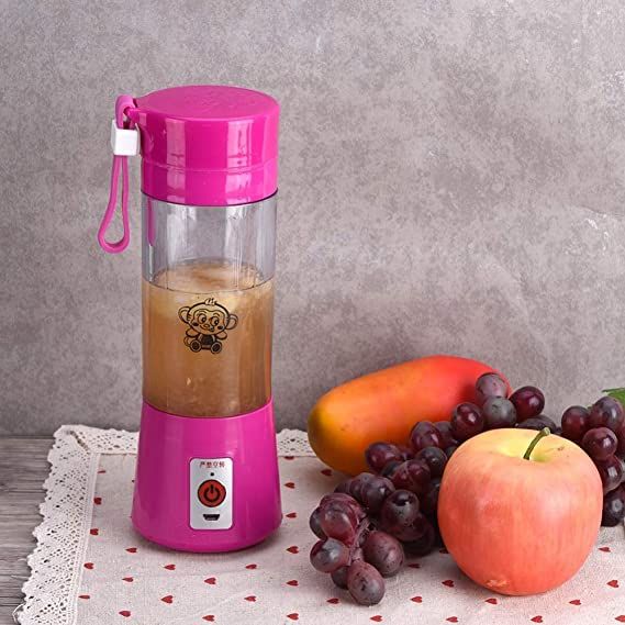 Amazon.com: Electric Fruit Juicer Machine Mini Portable USB Rechargeable Smoothie Maker Shake Juice Slow Juicer Bottle Squeezers Cup juicer: Kitchen & ...