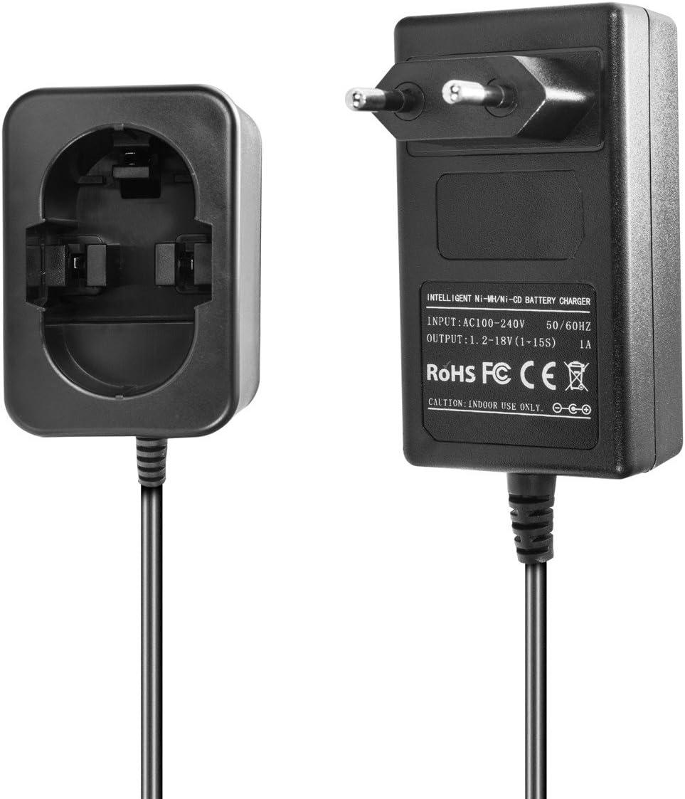 Ladeger/ät kompatibel mit Bosch Ni-MH//Ni-CD Werkzeug-Akkus 7.2-18V 7.2-12V 12V 1.5A 1A