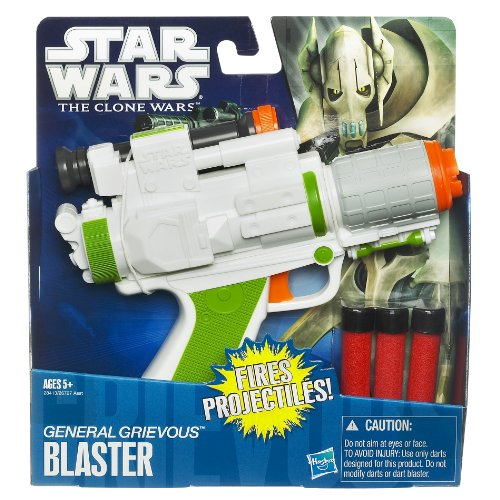 Star Wars Role Play, General Grievous Blaster - http://coolthings.us