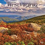 West Virginia Wild & Scenic 2021 12 x 12 Inch Monthly Square Wall Calendar, USA United States of America Southeast State Nature