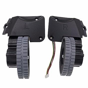 YTT For ILife A4 A4S wheel (izquierda + derecha) piezas robot aspiradora aspirador incluyen motor: Amazon.es: Hogar