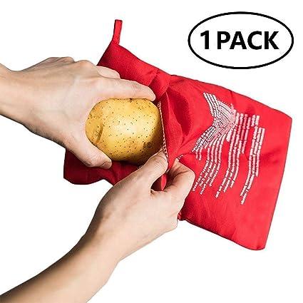 caidi® Bolsas de Horno de microondas para Patatas Potato Express ...