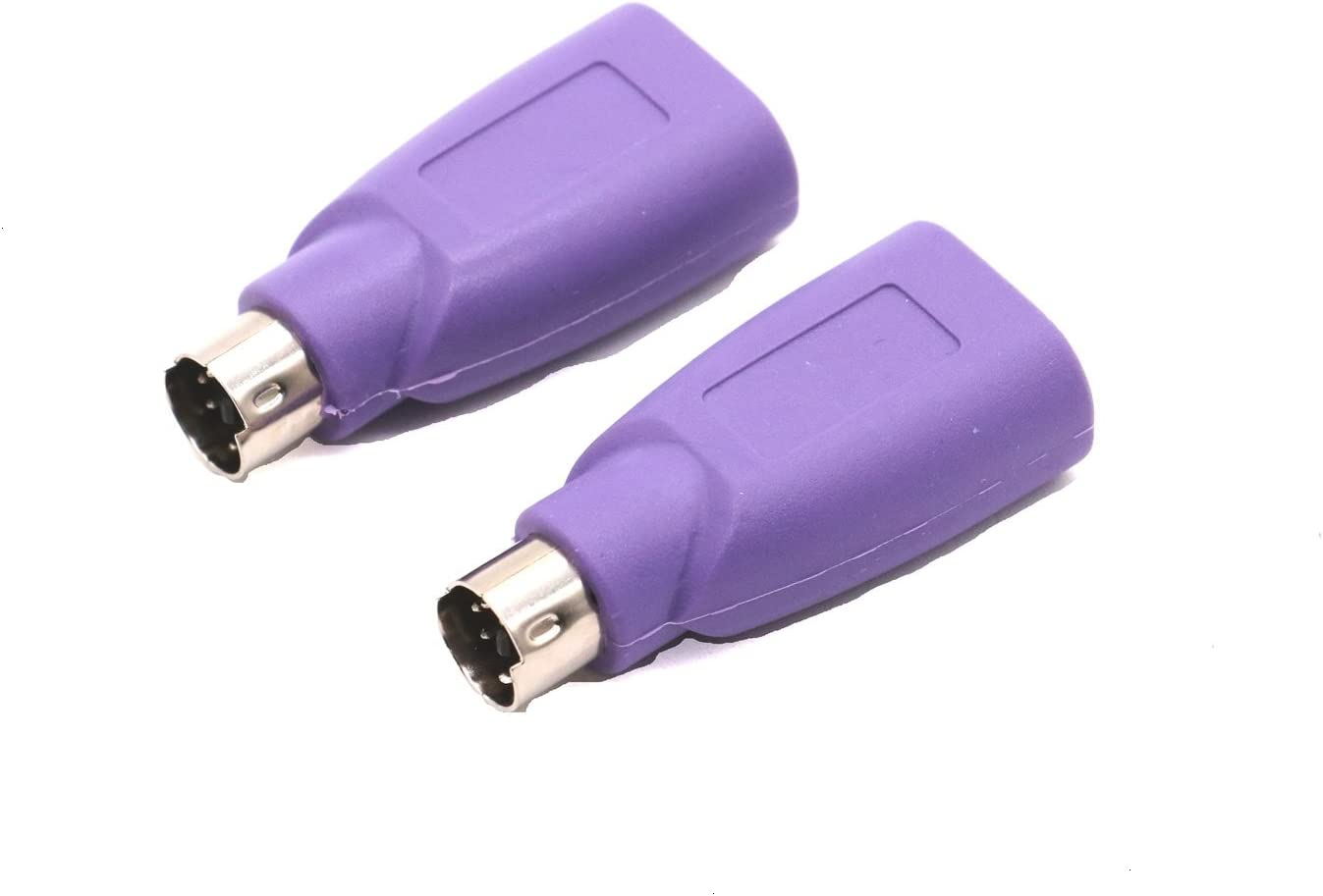 Appearanice USB Male To PS2 Female Adapter Converter for Computer PC Keyboard Mouse