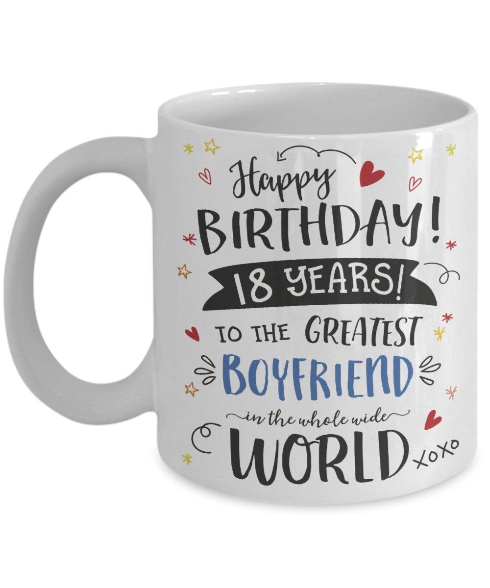 18th Birthday Gift Mug For Boyfriend