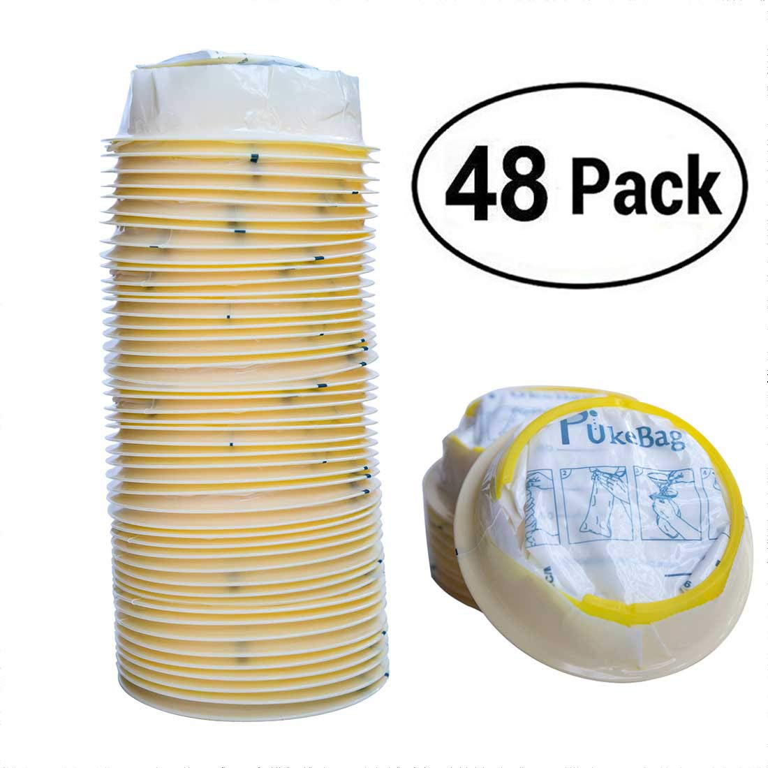 Guiote 25 Bolsas de desechos, Bolsas de residuos de Emesis ...