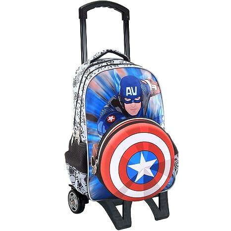 Toy Bags-510718AVT Mochila Escolar con Ruedas de Marvel 026