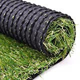 RoundLove Artificial Turf Lawn Fake Grass Indoor Outdoor Landscape Pet Dog Area (40X80 in)