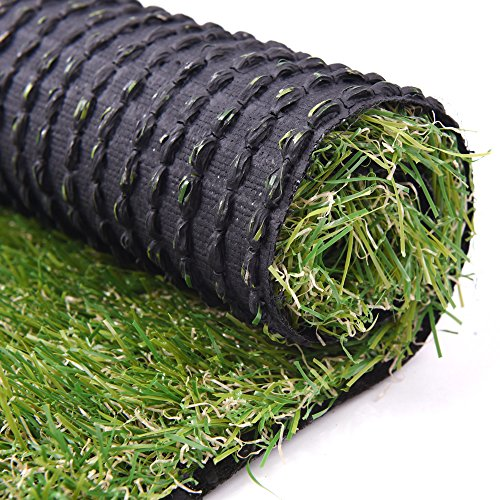 Turf Artificial Lawn Fake Grass Indoor Outdoor Landscape Pet Dog Area (40X80 - Landscape Grass